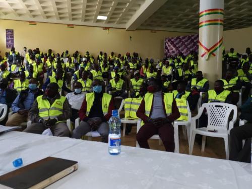 Training of Bodaboda officials in Nandi County