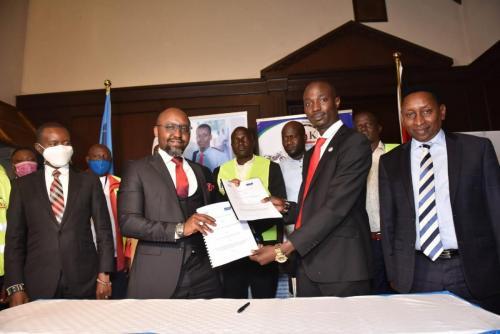 UHC Partnership Signing